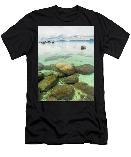 Clear Water, Stormy Sky Men's T-Shirt (Athletic Fit)