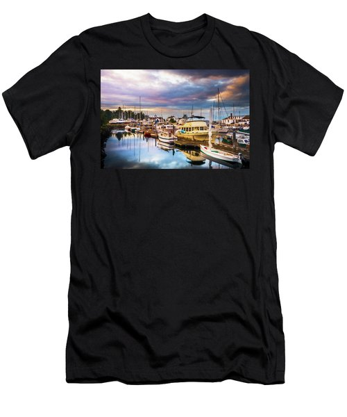 Clearing Storm Over The Pacific Ocean Men's T-Shirt (Athletic Fit)