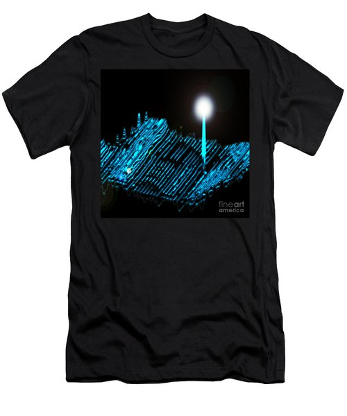 Cleaved Superconductor, Stm Men's T-Shirt (Athletic Fit)