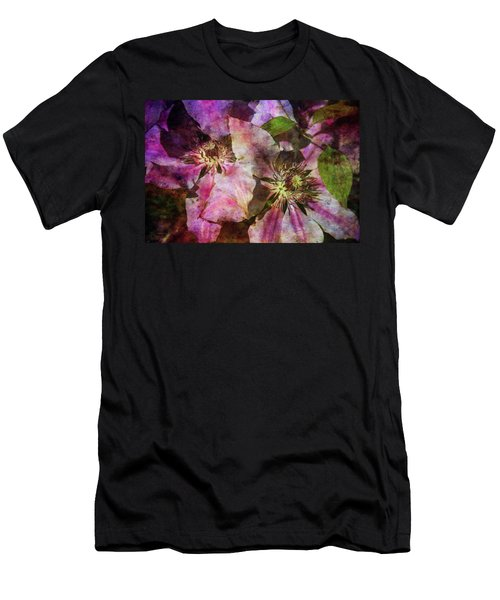 Clematis 9569 Idp_2 Men's T-Shirt (Athletic Fit)