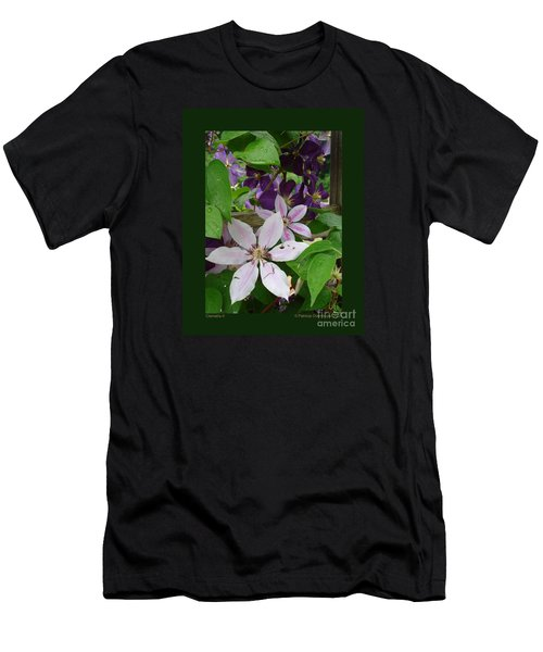Clematis-ii Men's T-Shirt (Athletic Fit)
