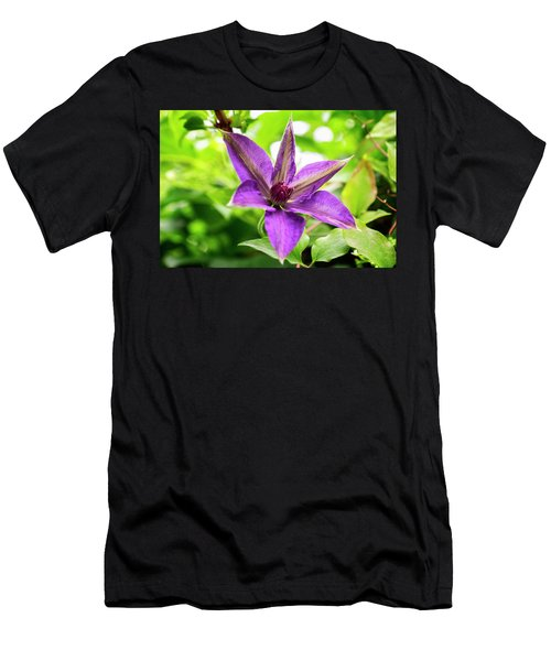 Clematis Vine II Men's T-Shirt (Athletic Fit)