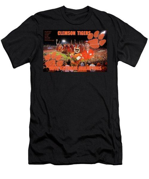Clemson National Champs Men's T-Shirt (Athletic Fit)