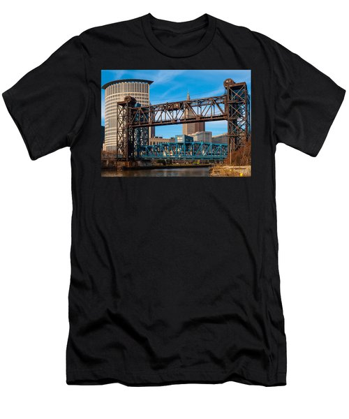 Cleveland City Of Bridges Men's T-Shirt (Athletic Fit)
