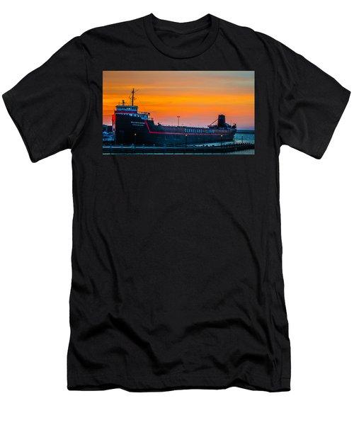 Cleveland Sunset Men's T-Shirt (Athletic Fit)