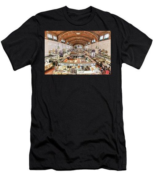Cleveland Westside Market  Men's T-Shirt (Athletic Fit)
