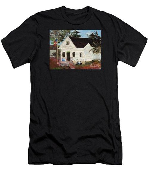 Cliff Island School Men's T-Shirt (Athletic Fit)