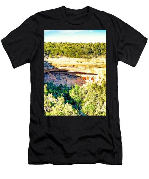 Cliff Palace Study 1 Men's T-Shirt (Athletic Fit)