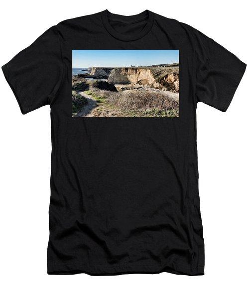 Cliff Top Men's T-Shirt (Athletic Fit)