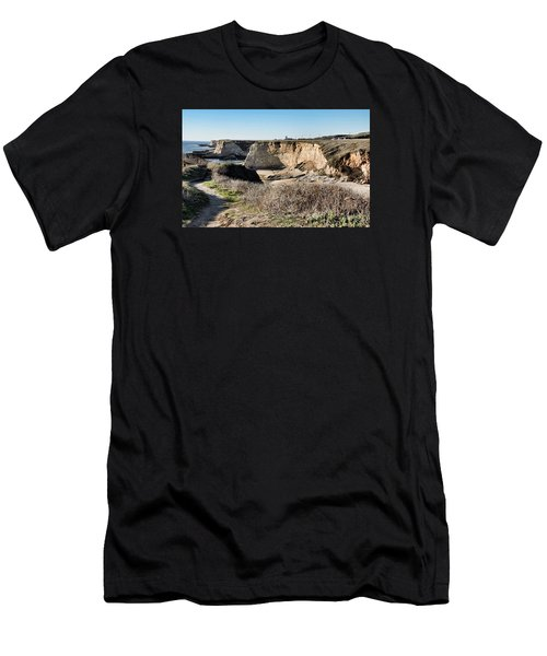 Cliff Top Men's T-Shirt (Athletic Fit)