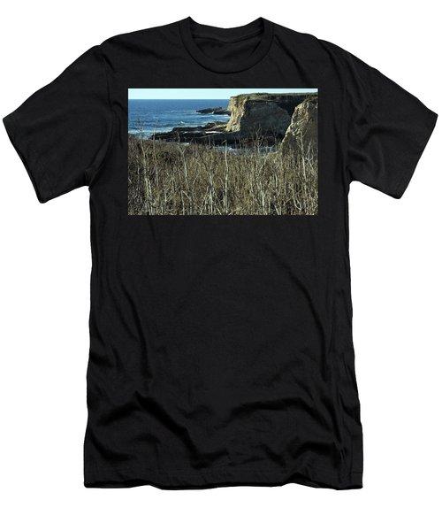 Cliff View Men's T-Shirt (Athletic Fit)