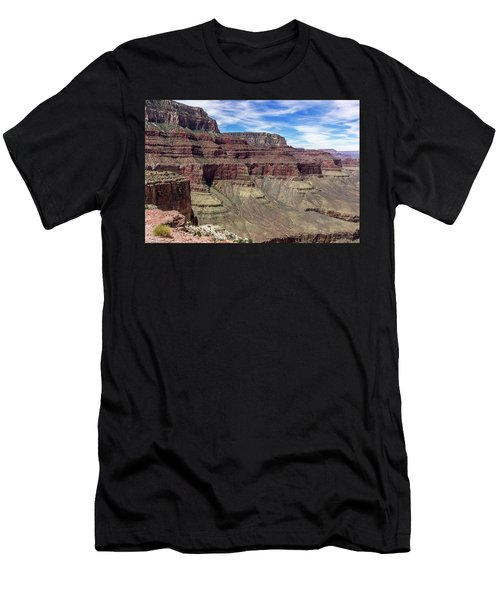 Cliffs In The Grand Canyon Men's T-Shirt (Athletic Fit)