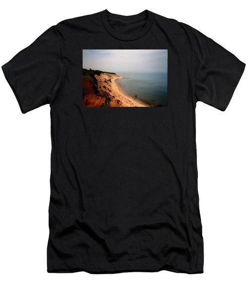 Cliffs Of Block Island Men's T-Shirt (Athletic Fit)