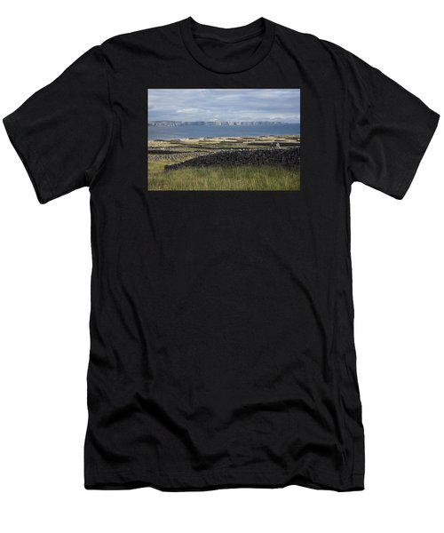 Cliffs Of Moher From Inisheer Men's T-Shirt (Athletic Fit)