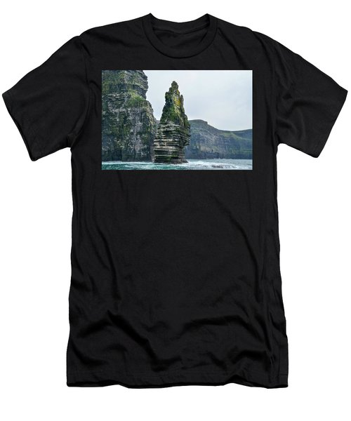 Cliffs Of Moher Sea Stack Men's T-Shirt (Athletic Fit)