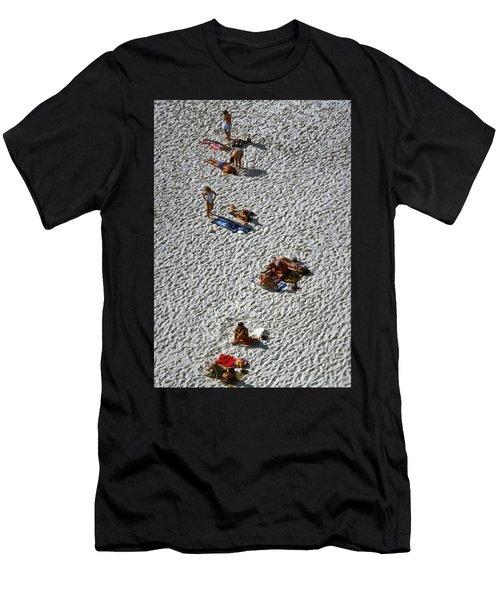 Clifton Beach, Cape Town Men's T-Shirt (Athletic Fit)