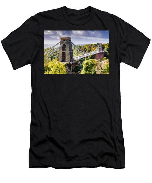 Clifton Suspension Bridge Men's T-Shirt (Athletic Fit)