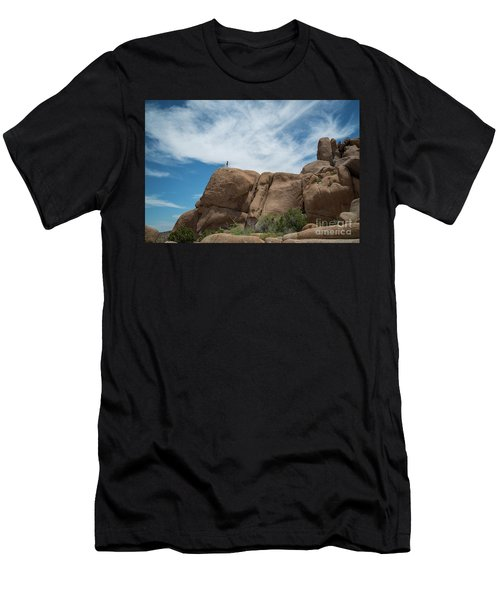 Climbing To The Top  Men's T-Shirt (Athletic Fit)