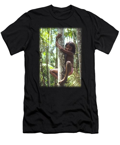 Climbing Trees Men's T-Shirt (Athletic Fit)