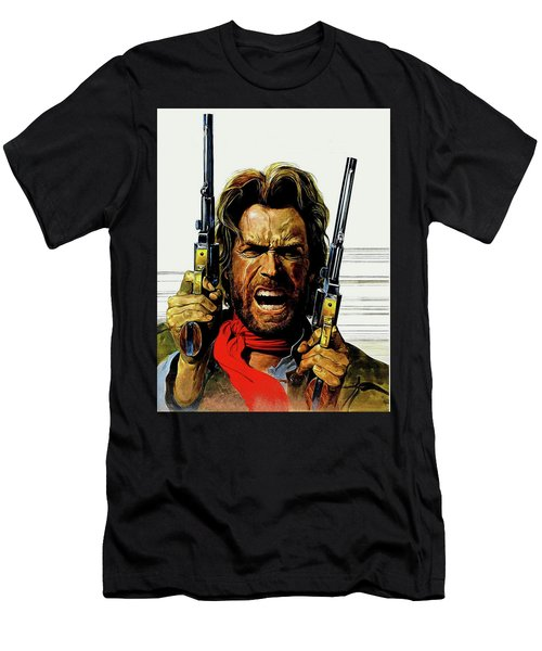 Clint Eastwood As Josey Wales Men's T-Shirt (Athletic Fit)