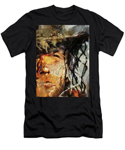 Clint Eastwood Men's T-Shirt (Slim Fit) by Michael Cleere