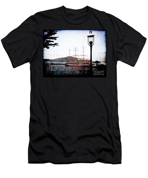 Clipper Ship Men's T-Shirt (Athletic Fit)