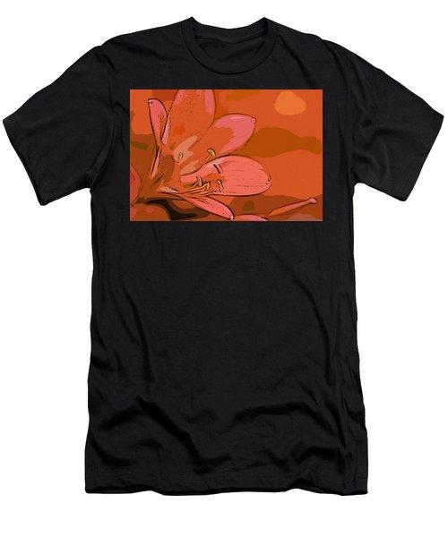 Clivia Miniata Men's T-Shirt (Athletic Fit)