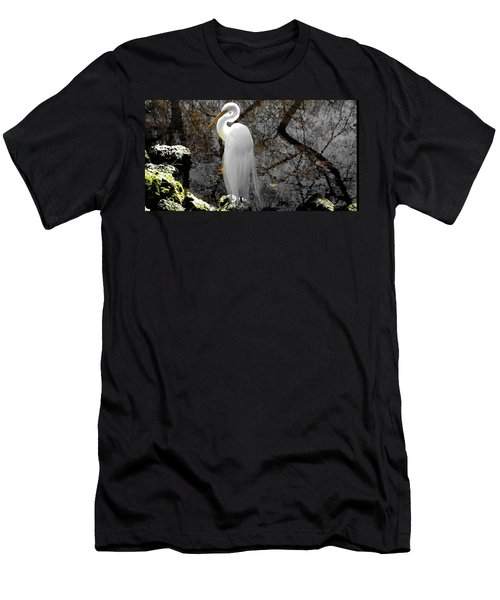 Cloaked Men's T-Shirt (Slim Fit) by Judy Wanamaker