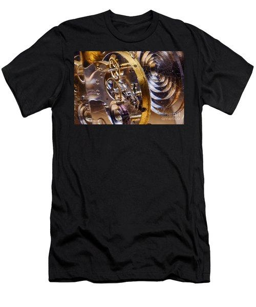 Clock Gears Men's T-Shirt (Athletic Fit)