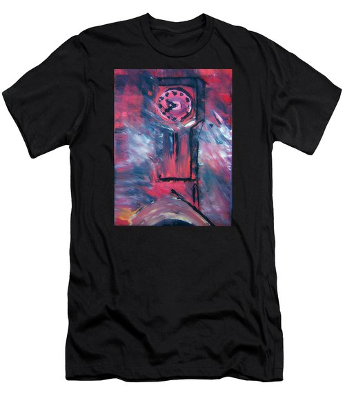 Clock Tower By Colleen Ranney Men's T-Shirt (Athletic Fit)