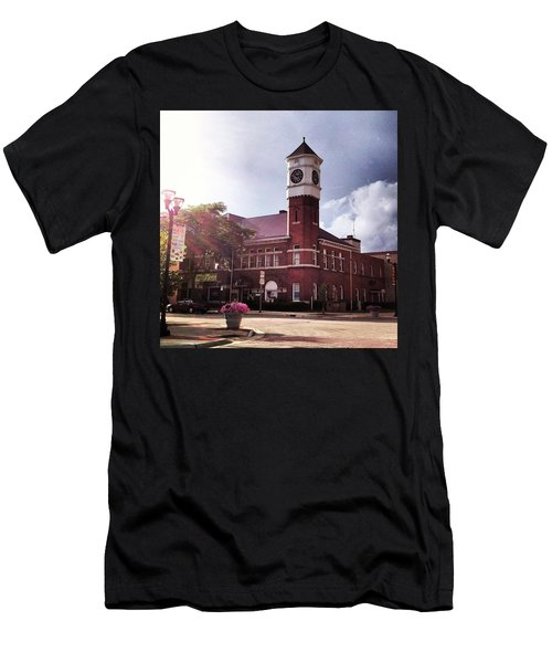 Clocktower Sunshine Men's T-Shirt (Athletic Fit)