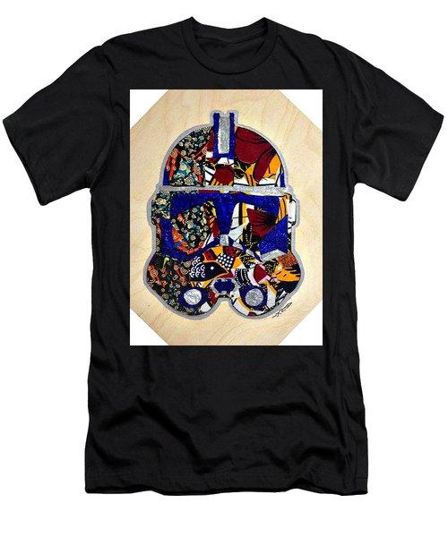 Clone Trooper Star Wars Afrofuturist Men's T-Shirt (Athletic Fit)