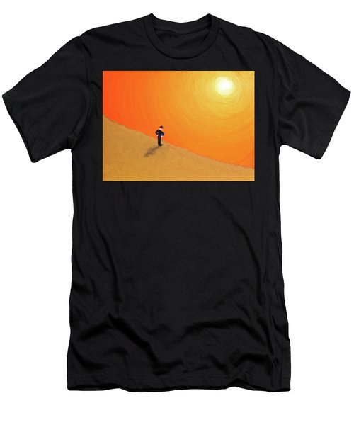 Close To The Edge Men's T-Shirt (Athletic Fit)