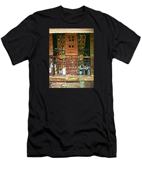 Men's T-Shirt (Athletic Fit) featuring the photograph Closed Up by Anne Kotan