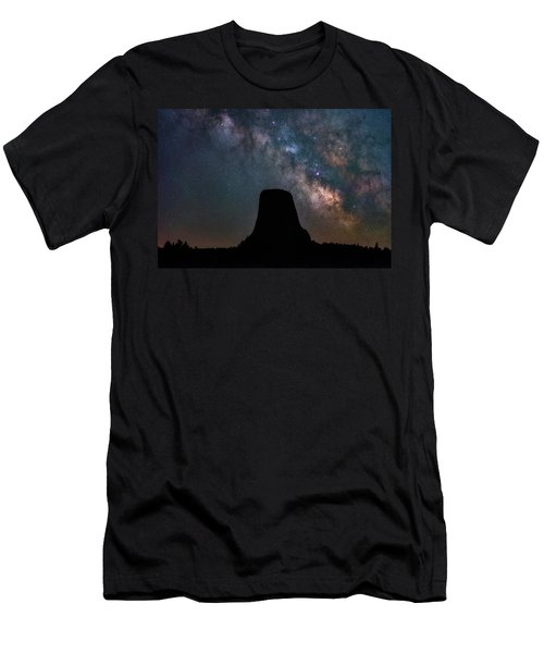Men's T-Shirt (Athletic Fit) featuring the photograph Closer Encounters by Darren White