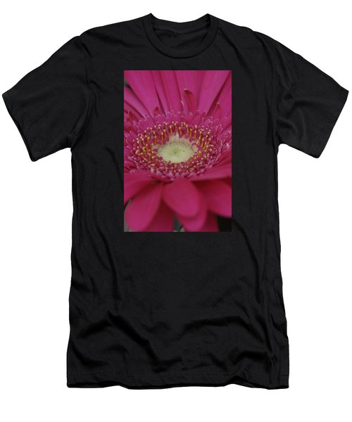Closeup Of A Flower Men's T-Shirt (Athletic Fit)