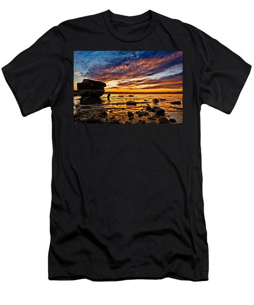 Closing Colors Men's T-Shirt (Athletic Fit)