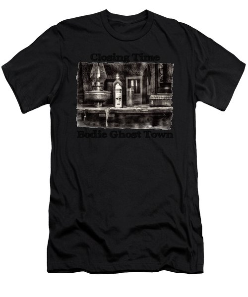 Closing Time Bodie Ghost Town Men's T-Shirt (Athletic Fit)