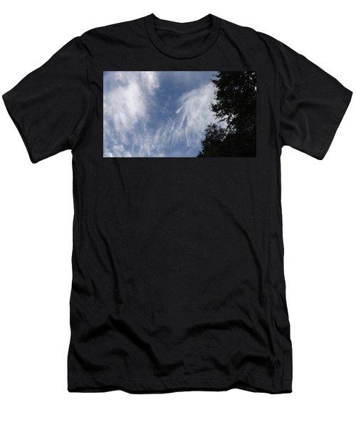 Cloud Fingers Men's T-Shirt (Slim Fit) by Don Koester
