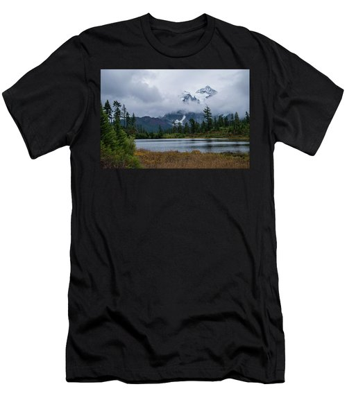 Cloud Mountain Men's T-Shirt (Athletic Fit)