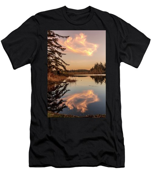 Cloud On Cranberry Lake Men's T-Shirt (Athletic Fit)