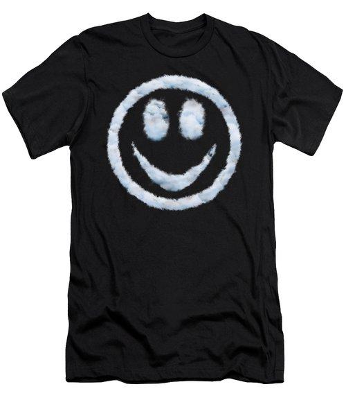 Cloud Smiley Men's T-Shirt (Athletic Fit)