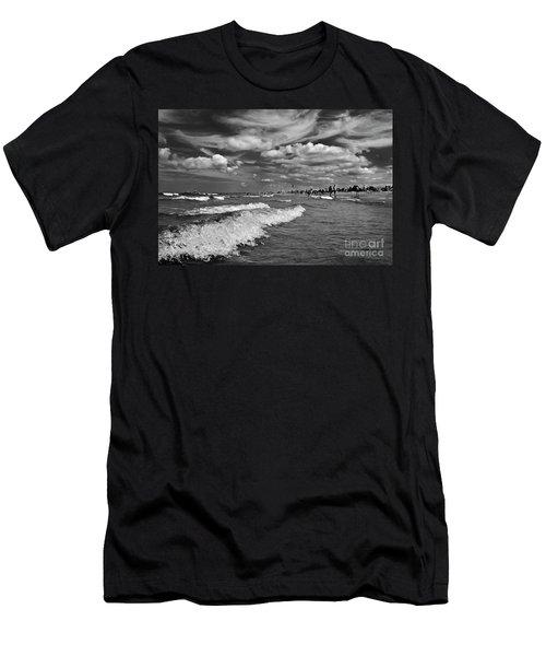 Cloud Sound Drama Men's T-Shirt (Athletic Fit)