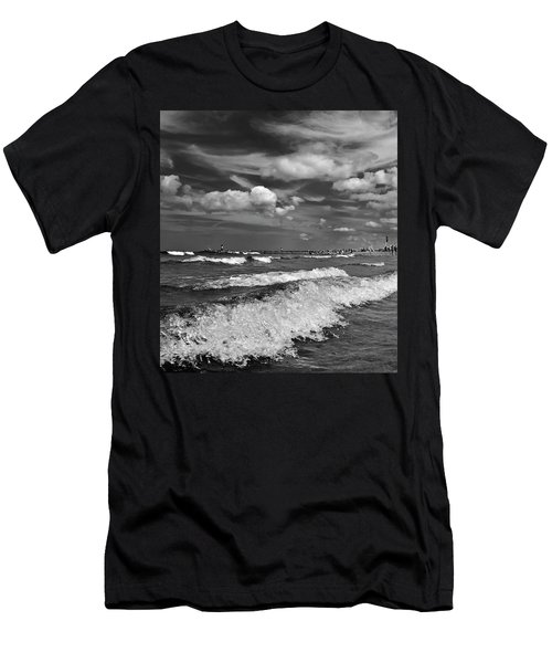 Cloud Sound Drama Men's T-Shirt (Athletic Fit)
