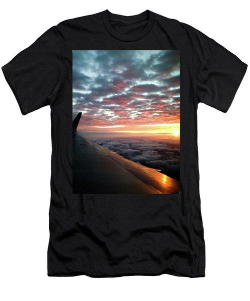 Cloud Sunrise Men's T-Shirt (Slim Fit) by Josy Cue