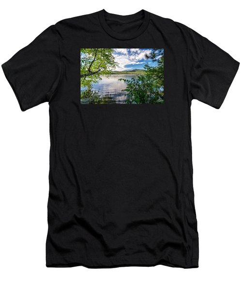 Cloud Swirl Mt. Chocorua Nh Men's T-Shirt (Athletic Fit)