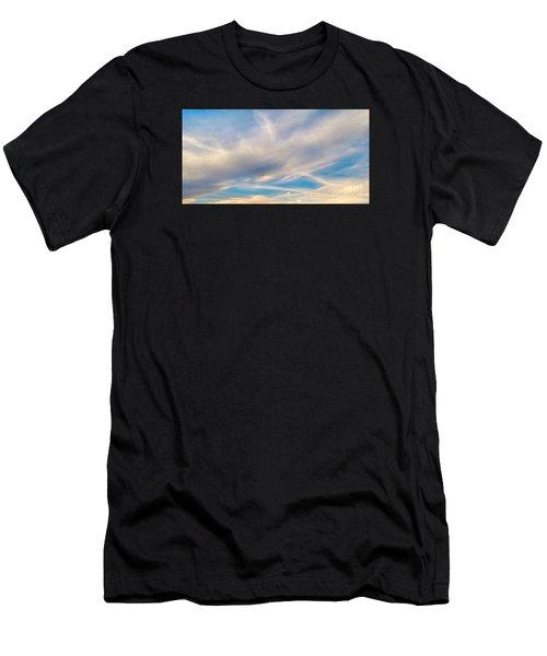 Cloud Wisps Men's T-Shirt (Athletic Fit)