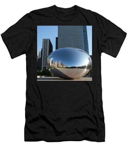 Cloudgate Reflects Men's T-Shirt (Athletic Fit)