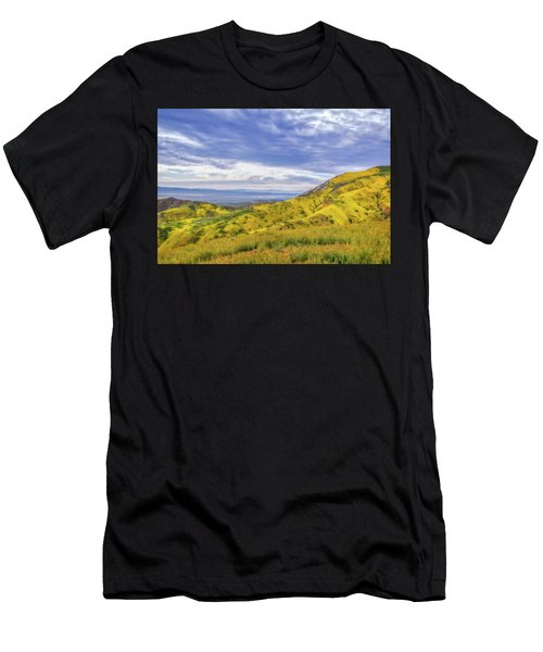 Clouds Above Temblor Range Men's T-Shirt (Athletic Fit)