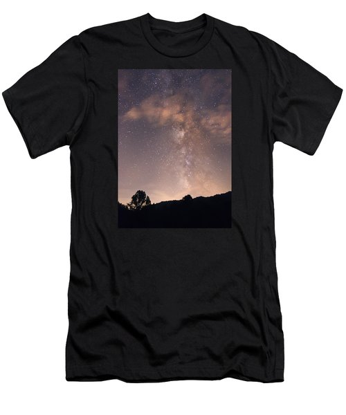 Clouds And Milky Way Men's T-Shirt (Athletic Fit)